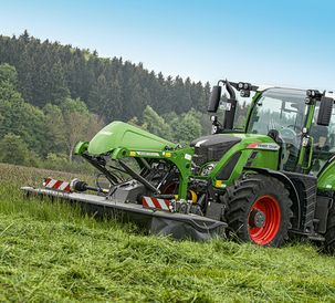 Meets the highest demands: The new Fendt Slicer FQ front mower