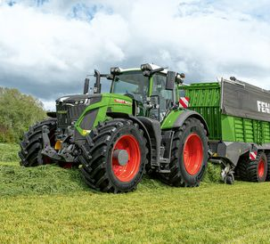 Suitable for farms of all sizes – new loading wagon models and updates to the Fendt Tigo series
