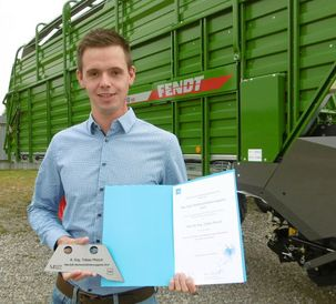 Max Eyth Young Talent Award goes to a Fendt Bachelor's Thesis