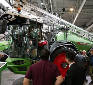 Fendt – Making a stand at the SIMA 2019 show in Paris