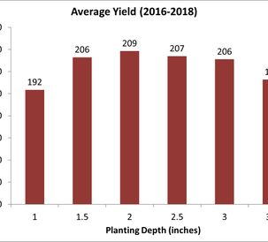 AGCO Crop Tour 2018 Planting Depth Chart
