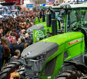 Crowds flock to Fendt at Agritechnica 2019