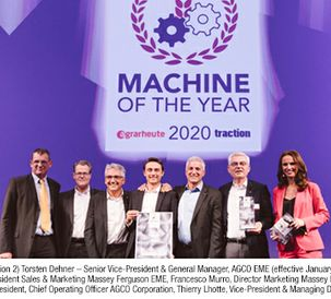 Massey Ferguson MF 6700 S Stage V named Machine of the Year 2020
