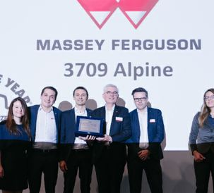 "Massey Ferguson MF 3709 AL wins Tractor Of the Year ""Best of Specialised"" 2020 Finalist Award"