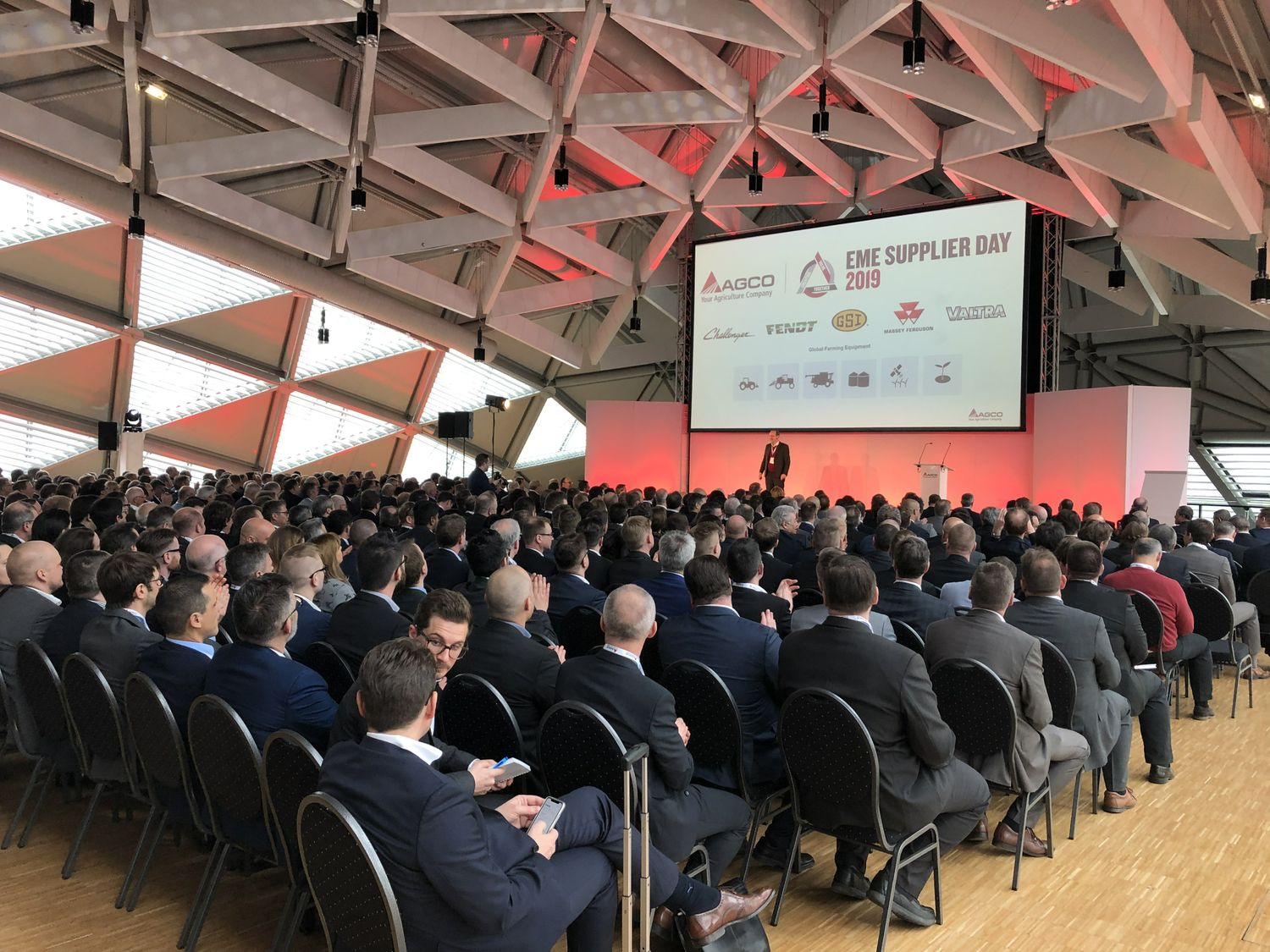 AGCO Honors its Top Suppliers During the 2019 EME Supplier Day in Budapest