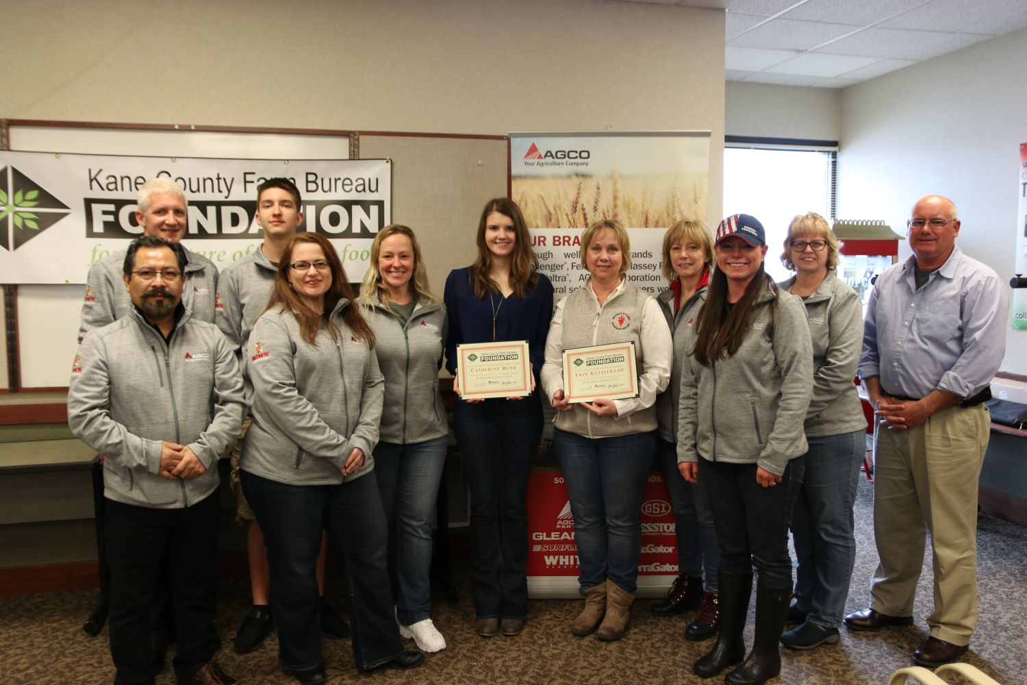AGCO Parts Awards Five Scholarships to Illinois Students