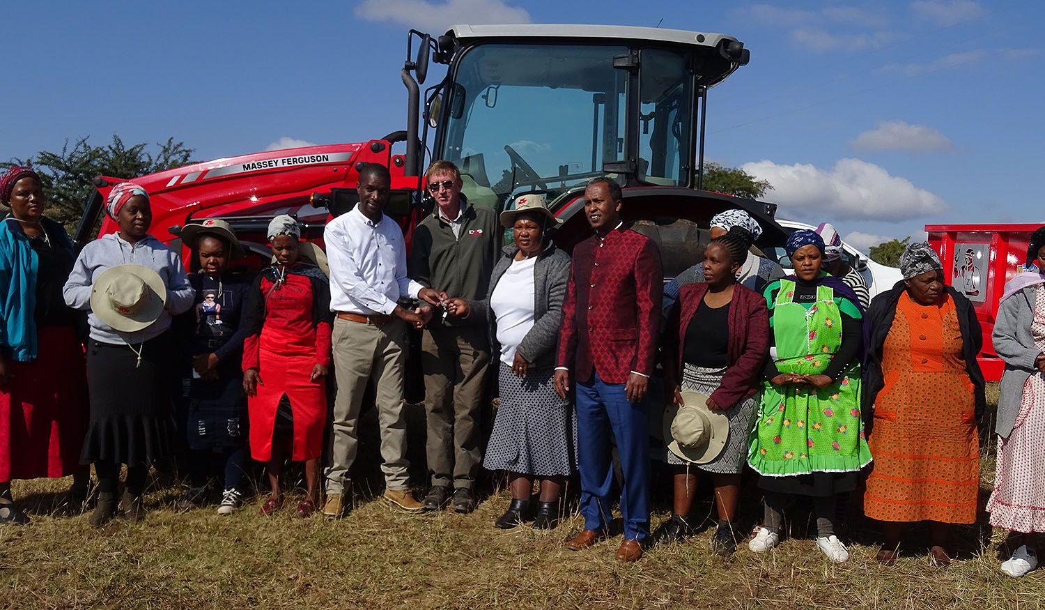uMsinga emerging farmer invests in high-tech agriculture solutions that will benefit local women-run farming cooperatives