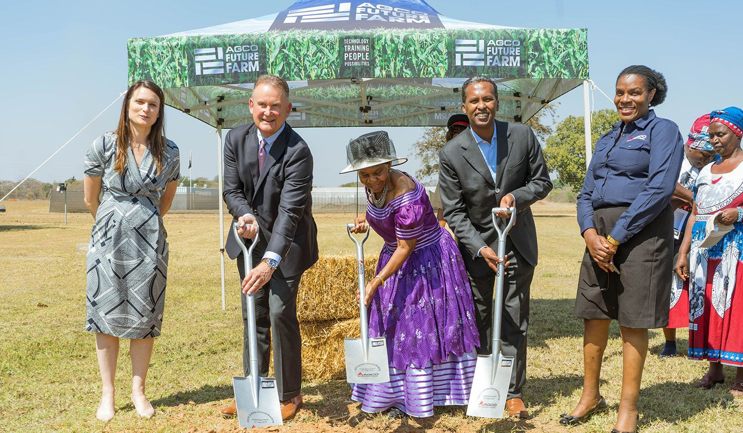 AGCO makes a significant investment towards the expansion of the Future Farm training facility in Zambia