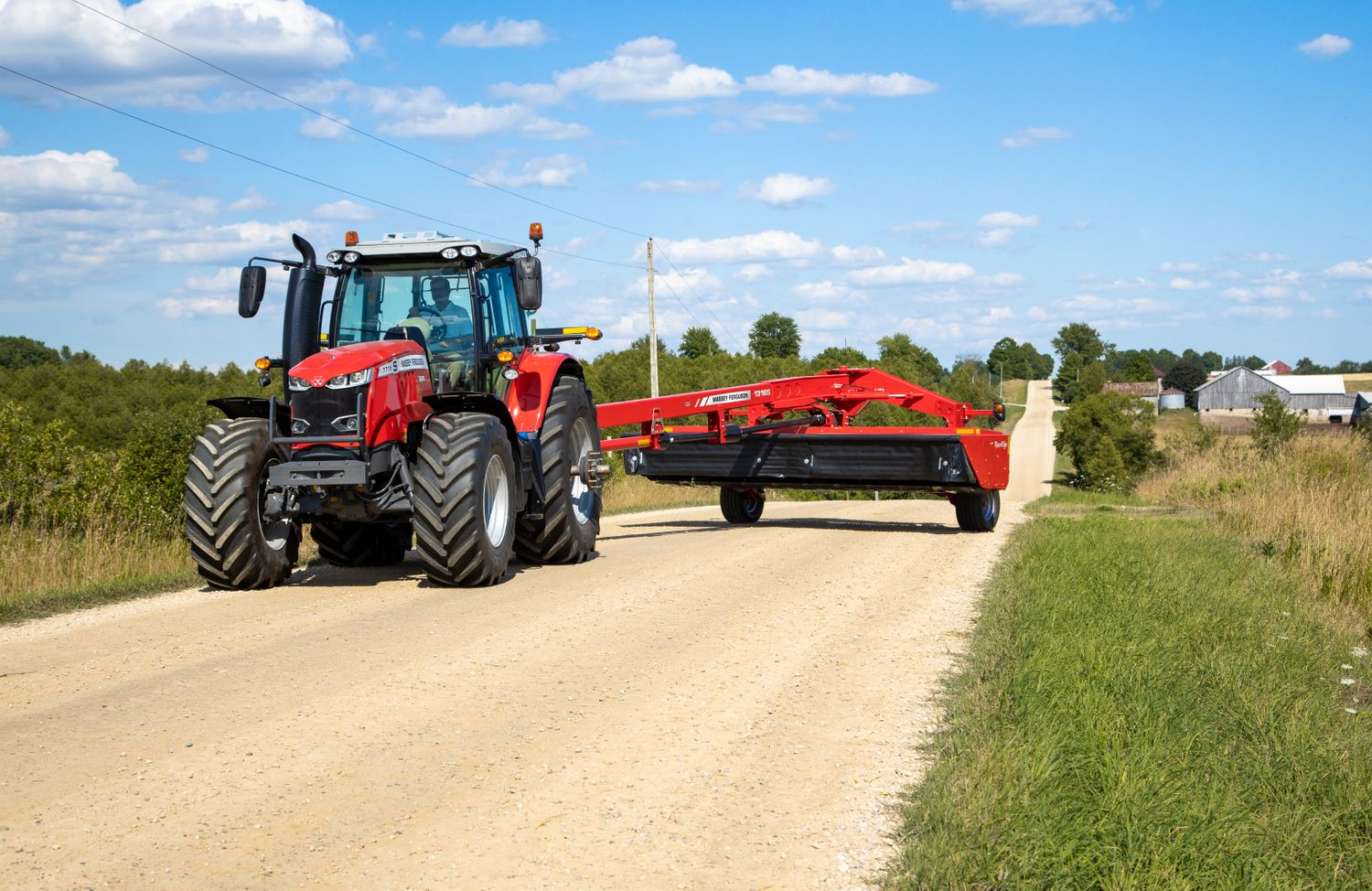 Hesston by Massey Ferguson Introduces MF1316S RazorEdge Pull-Type Disc Mower Conditioner