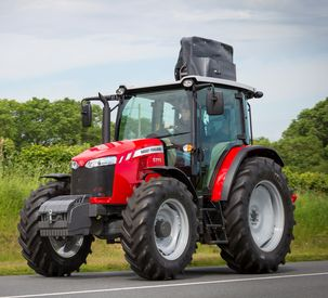 Massey Ferguson Introduces 5700 Global Series Tractors Equipped with Dyna-4 Transmission