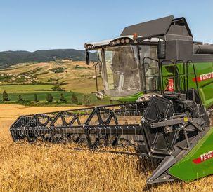 New features on Fendt shaker combine harvesters