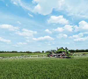 More variable working widths in Fendt crop protection solutions