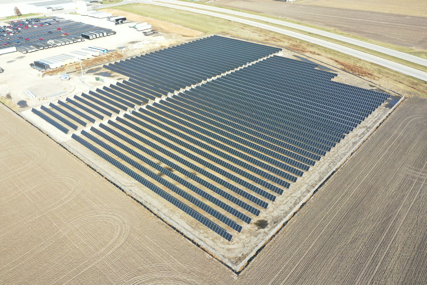 New Solar Energy System Helps Power AGCO Manufacturing Facility in Illinois