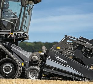 Fendt combine harvesters will soon be available to order with special headers from Geringhoff
