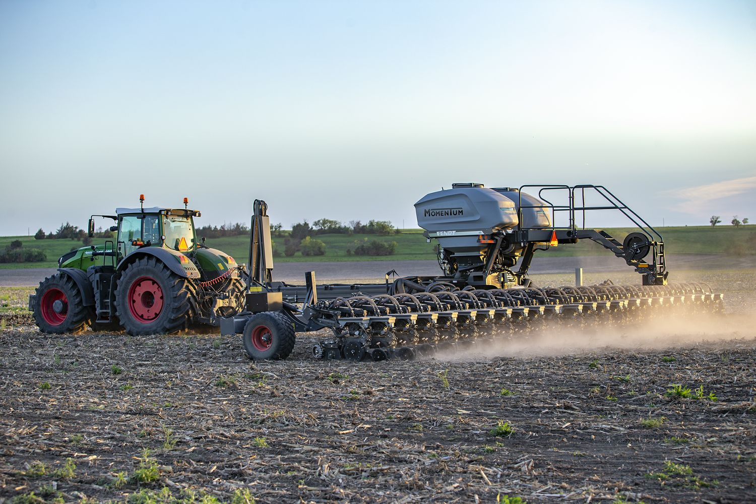 AGCO Crop Tour 2020 Features Fendt Momentum Planter