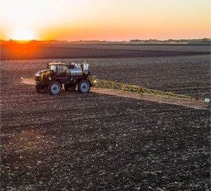 RoGator C Series in Field