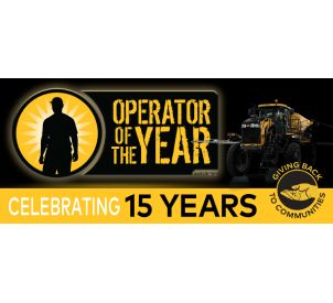 AGCO Celebrating 15 Years of Operator of the Year Awards