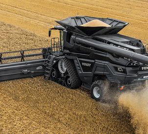 AGCO Introduces Fendt IDEAL 10, Highest HP Combine in North America