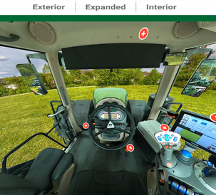 AGCO Virtual Showroom - FT1000 Interior View 2