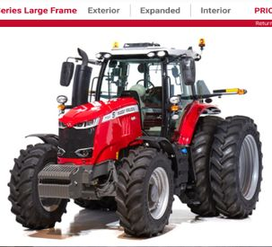 AGCO Virtual Showroom - MF7700 Exterior 360 View cropped
