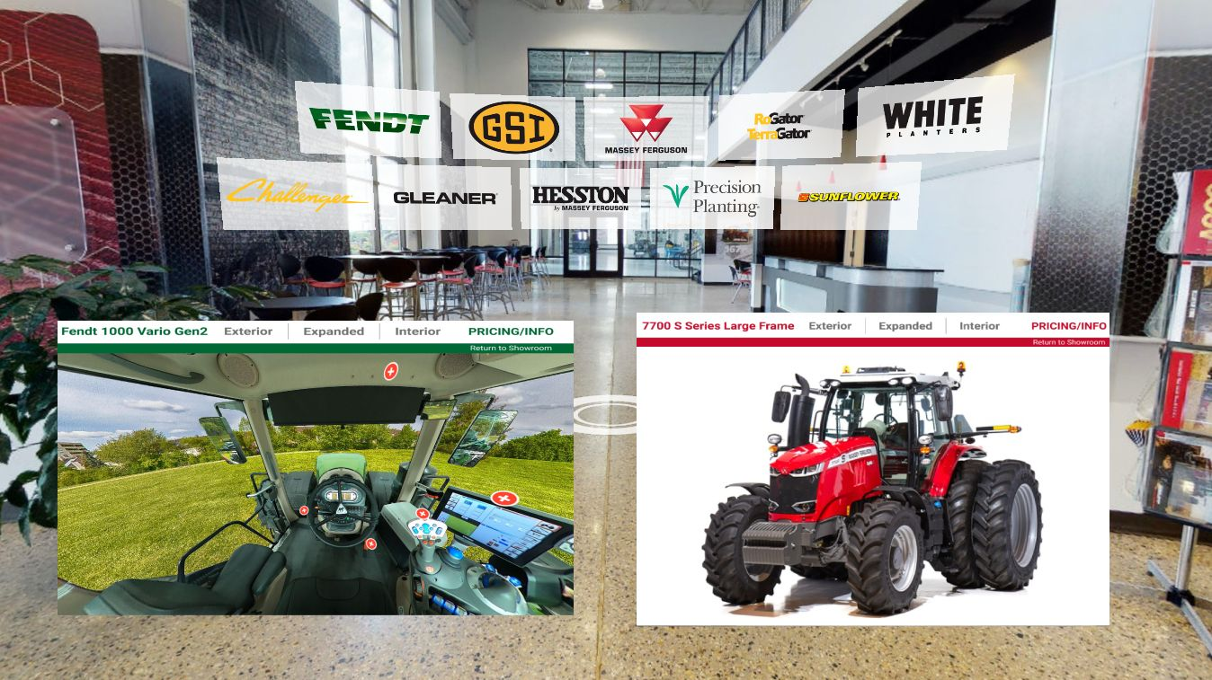 AGCO Launches Virtual Product Showroom