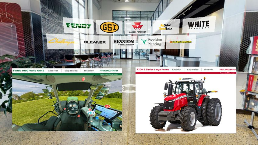 AGCO Virtual Showroom - Top Photo