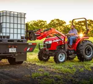 AGCO Introduces Massey Ferguson 1800E and 2800E Series Compact Tractors