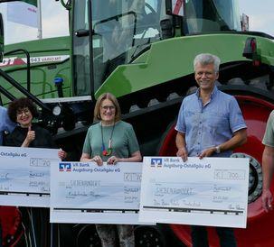 Fendt Bundesliga betting group donates to three charities from the Allgäu region