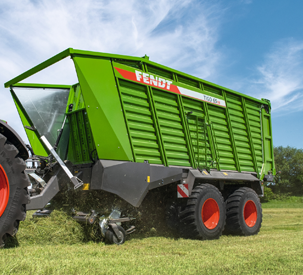 Fendt all-in-one loading wagon Fendt Tigo VR – versatile and compact