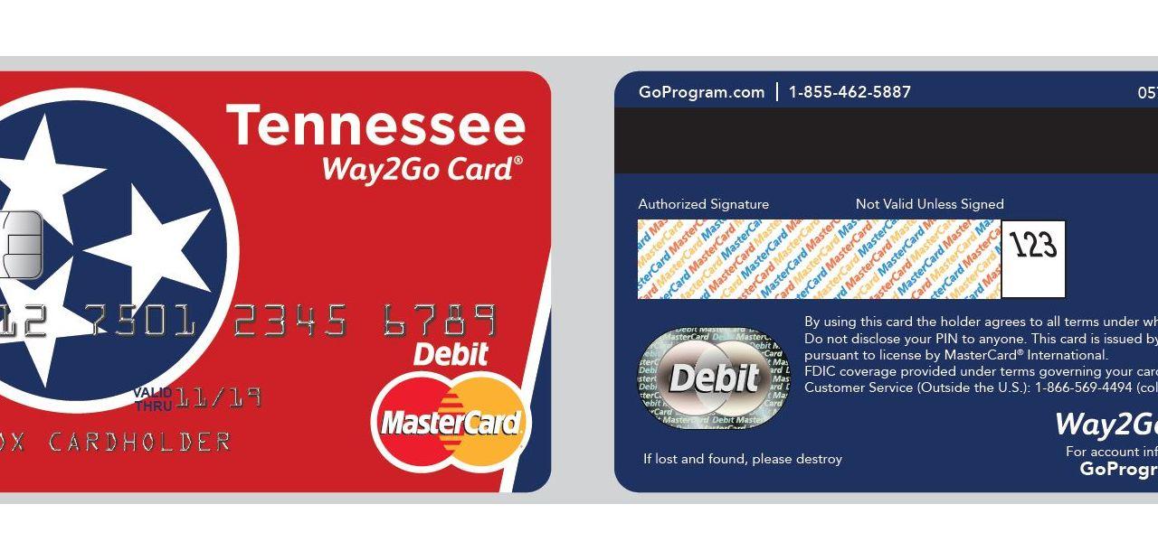 State of Tennessee Way2Go Card via Xerox's Go Program