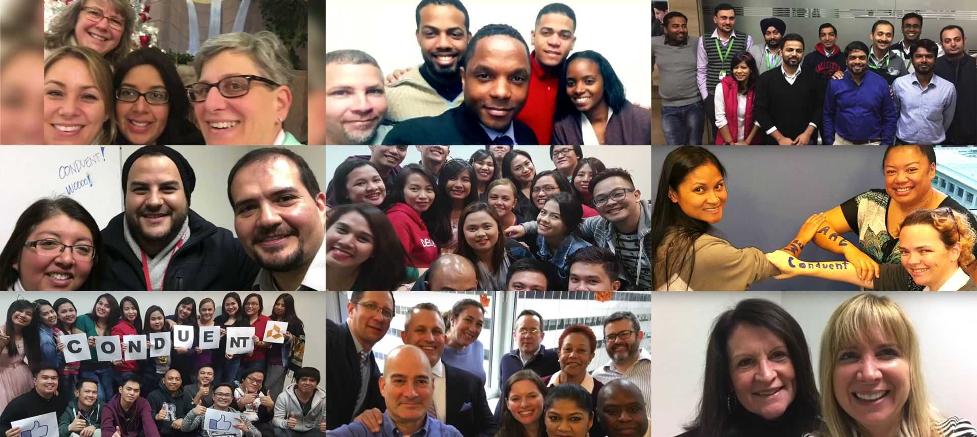 Conduent Launch Collage