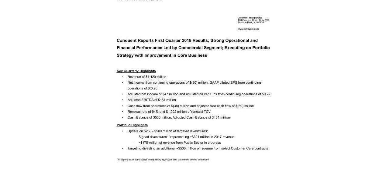 CNDT Q1 2018-Press Release_FINAL