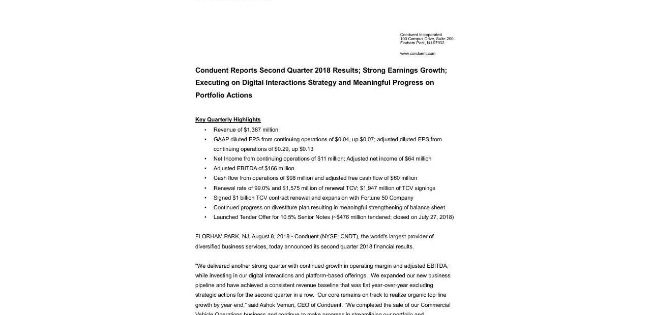 CNDT Q2 2018-Press Release_Final