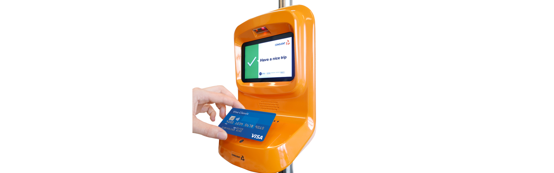 Conduent Transportation Receives 'Visa Ready for Transit' Certification for its ATLAS® Ops Fare Collection System to Boost Contactless Payments for Mass Transit Systems Globally