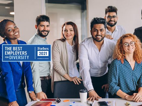 Forbes Recognizes Conduent as One of America's Best Employers for Diversity
