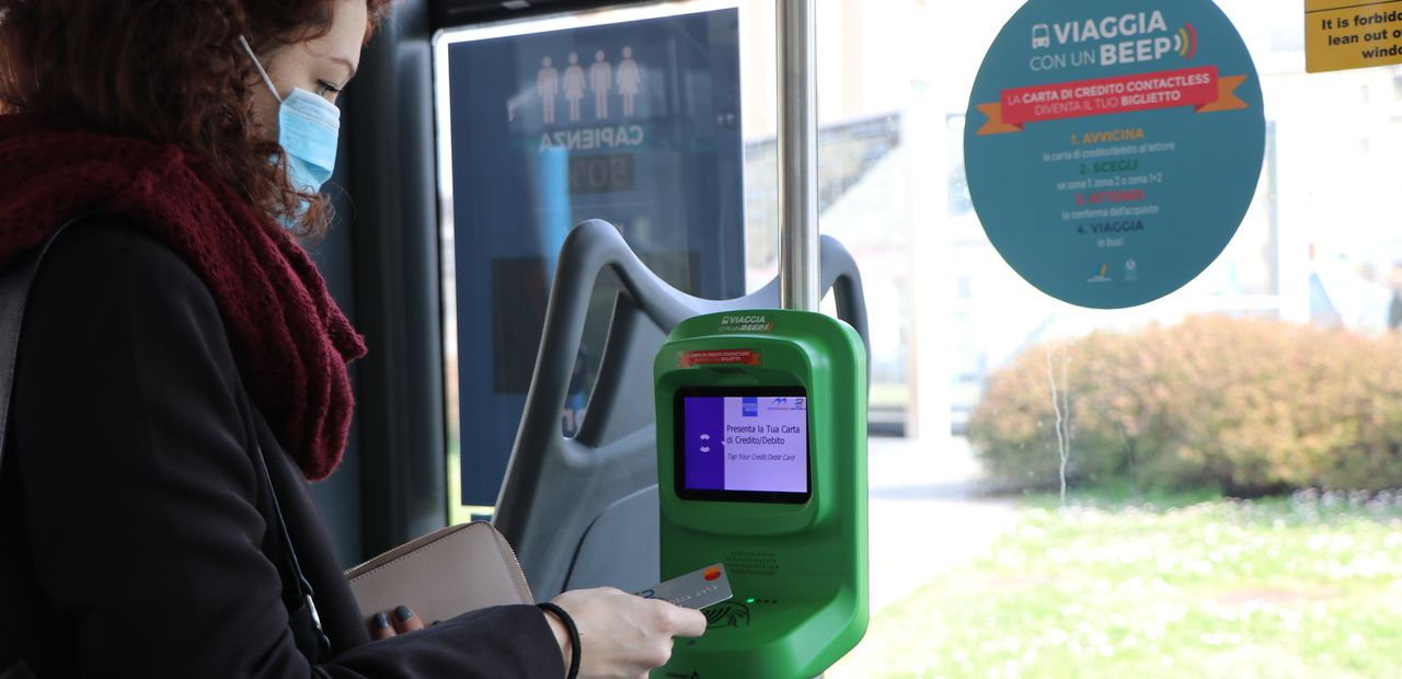 Brescia Mobilit and Conduent Transportation Expand Contactless Payment to Areas Bus Fleet
