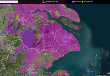 03 GlobalFloodMap Shanghai Satellit