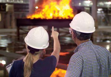 Im Research Campus forschen Risikoingenieure kontinuierlich um den Brandschutz zu verbessern