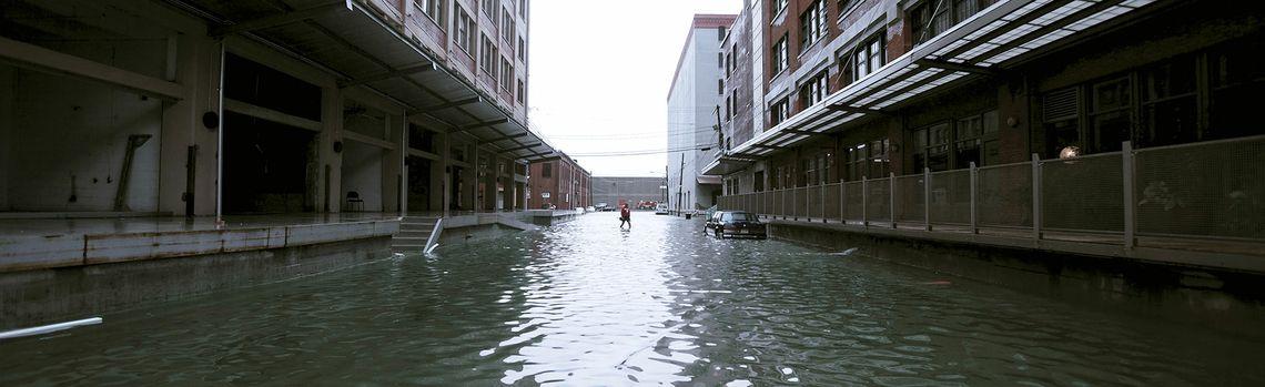 Les inondations érodent la valeur des entreprises sur le long terme
