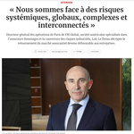 ITW - « Nous sommes face à des risques systémiques, globaux, complexes et interconnectés »