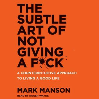 The Subtle Are of Not Giving A F*ck audiobook