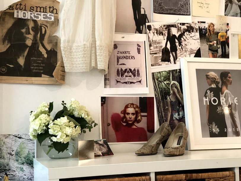 studio of Horses Atelier, Claudia Dey and Heidi Sopinka, fashion designers