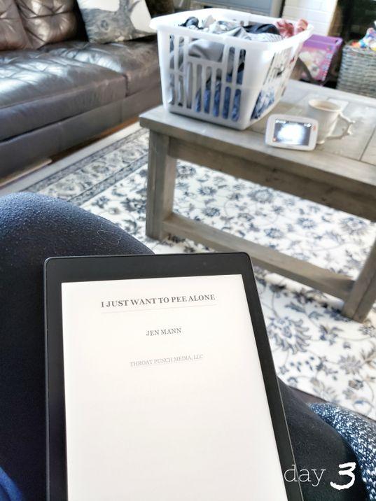 Kobo Reader Challenge DAY3