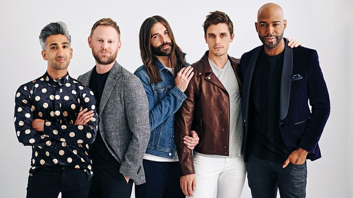 A booklist inspired by Queer Eye's Fab Five