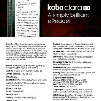 Kobo Clara HD