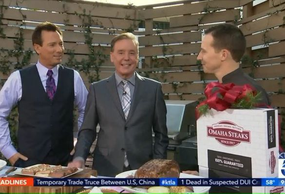 KTLA: Holiday Meal and Gifting Packages with Omaha Steaks