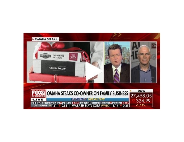Cavuto: Coast to Coast Omaha Steaks co-owner: We built a business treating customers, team like family