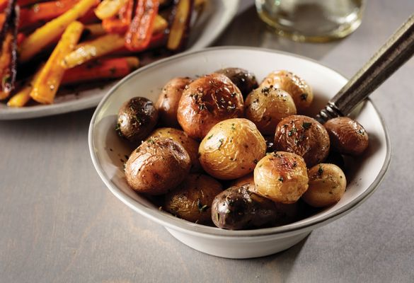 OmahaSteaks_tricolor potatoes in brown butter sauce
