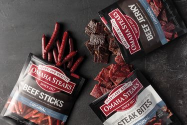 Omaha Steaks® Steak Snacks are Now Available in Over 2,500 Retail Stores Nationwide