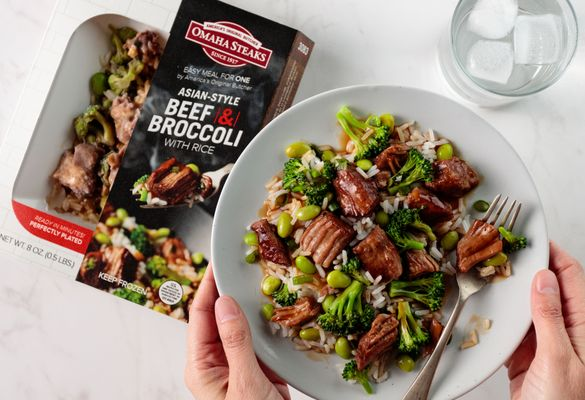 omahasteaks_asian-style beef _ broccoli with rice_pkg